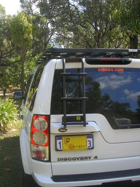 K9a 164 Eeziawn K9 Ladder Suit Land Rover Discovery 3