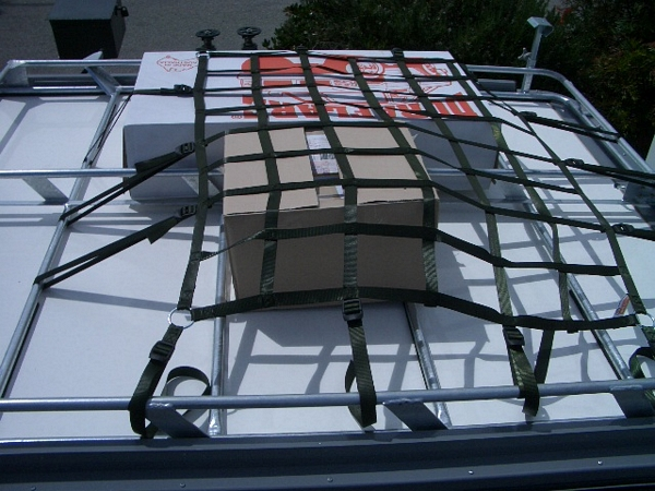 Olcn Cargo Roof Rack Net 900 X 1100mm With Tie Down