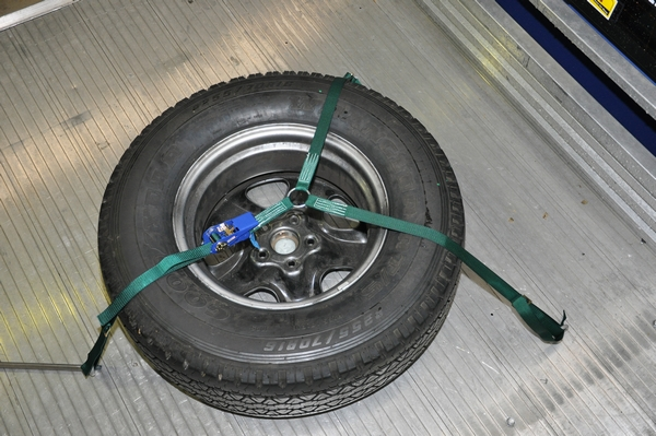 Olwtd Wheel Tie Down 3 X Straps With Ratchet Ideal For