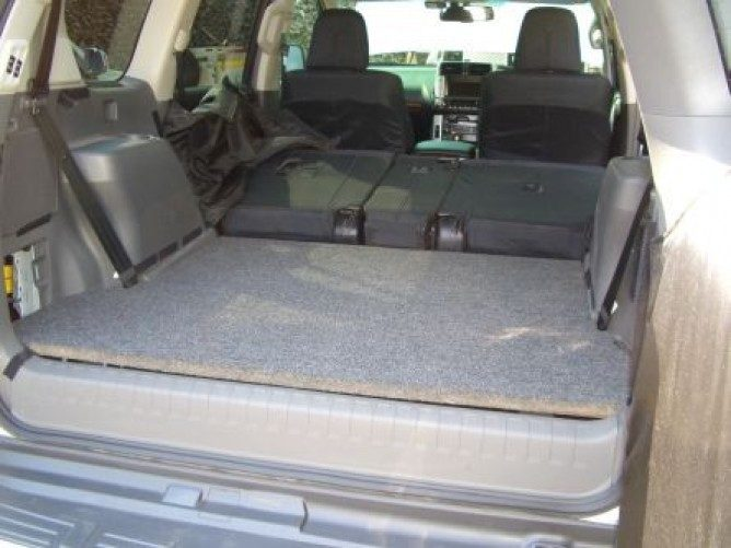 Sstp001 Toyota Prado 150 Trunk Base Box And Deck By