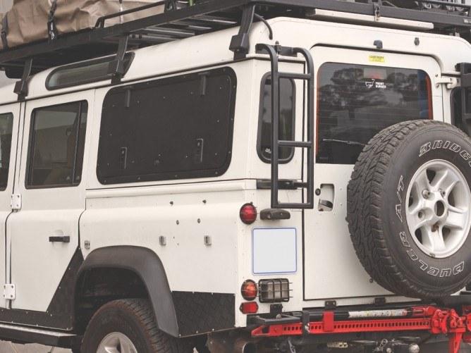 Lald001 Land Rover Defender 90 110 Vehicle Ladder 2