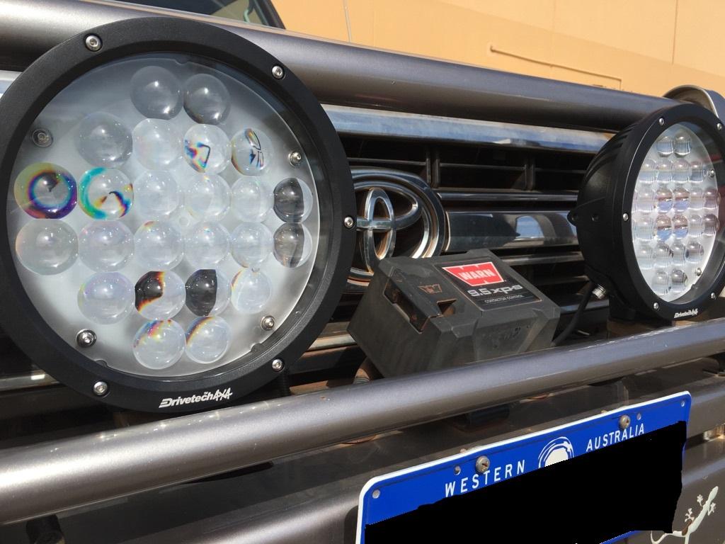 Toyota Drivetech Lamps