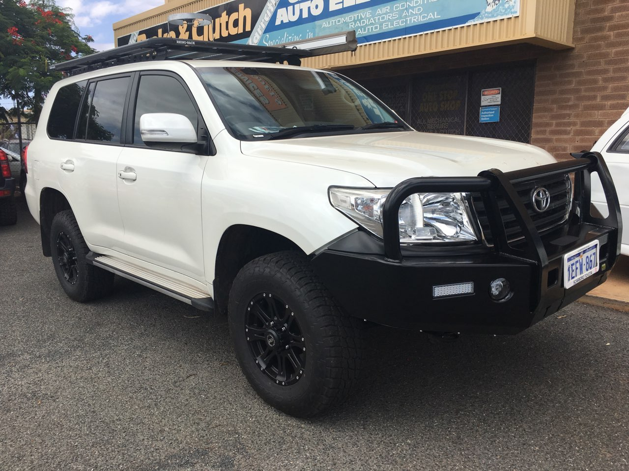 Toyota Lift GVM Upgrade