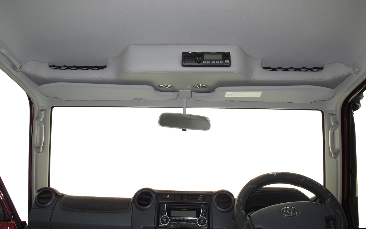 Toyota Roof Shelf