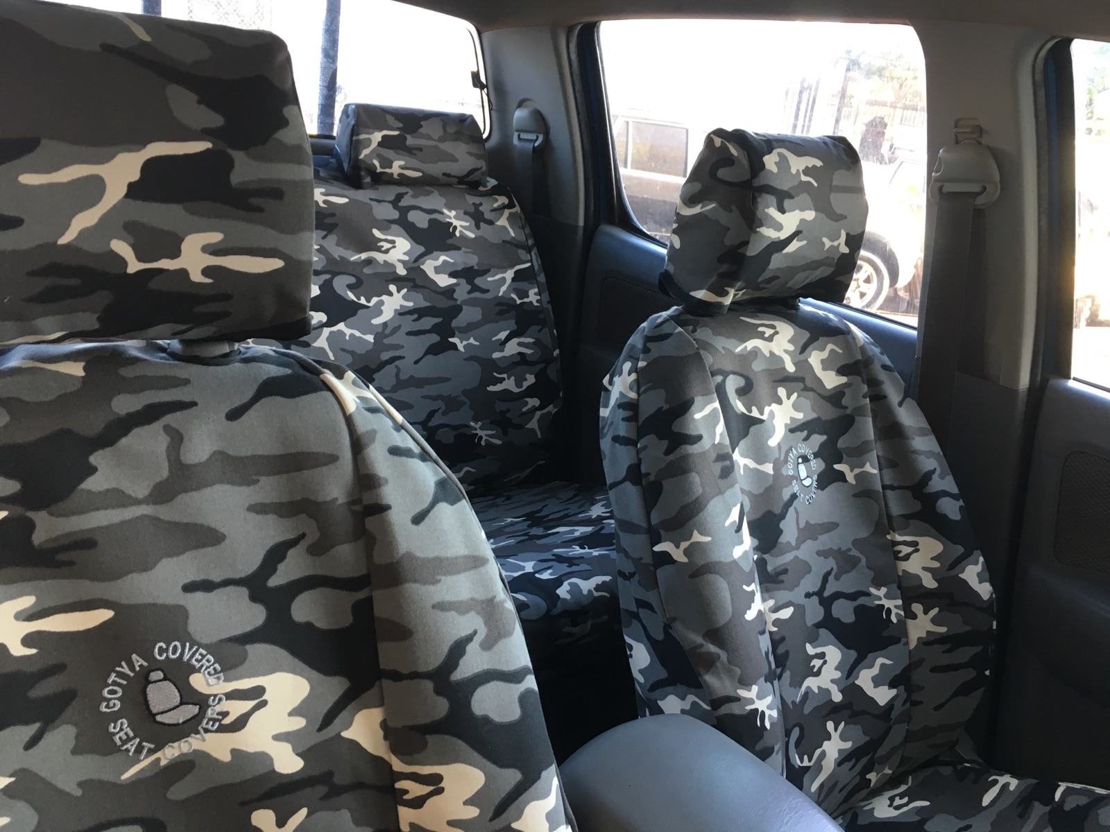 Toyota Seat Covers Camo