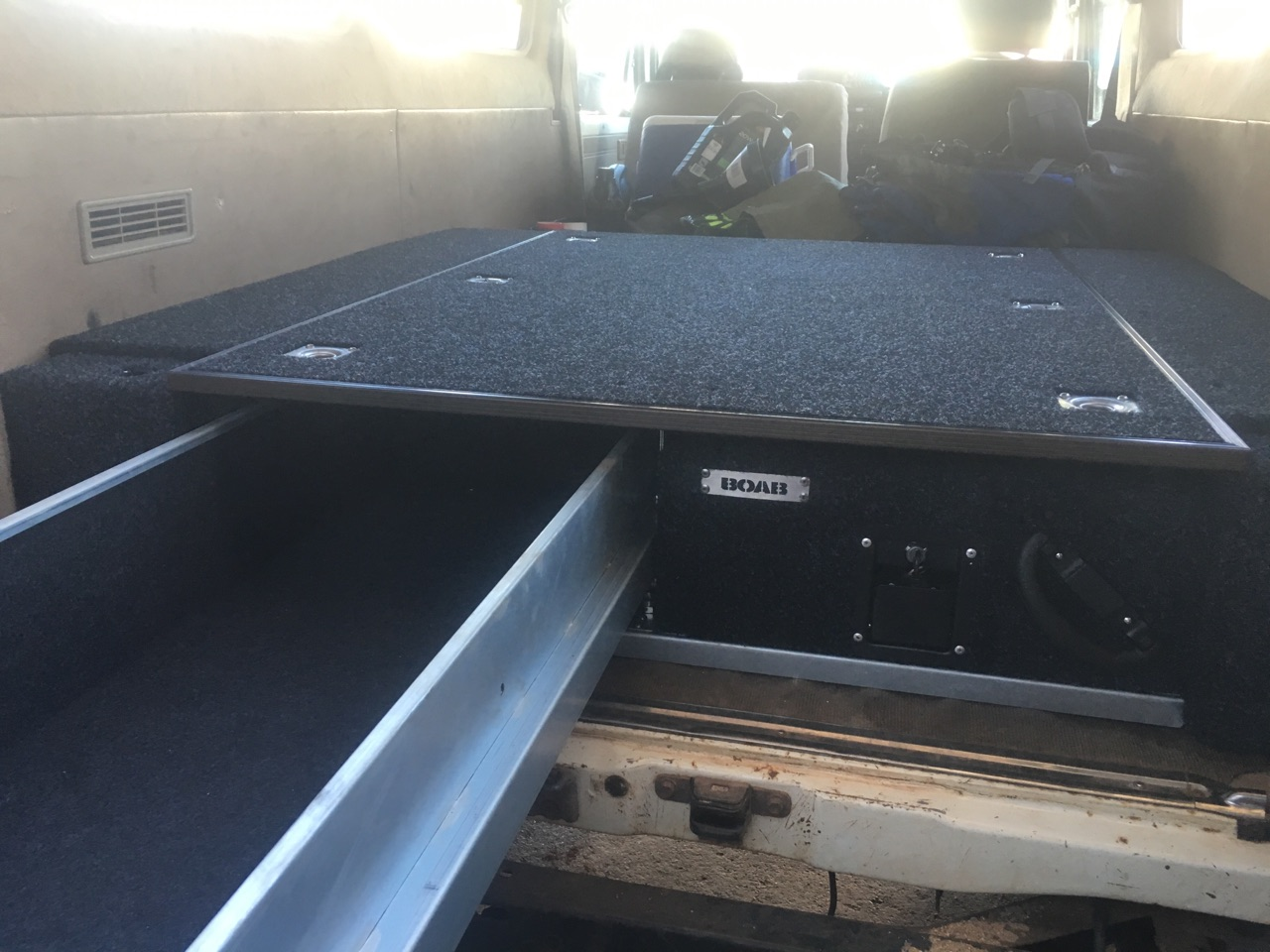 Toyota Troopy Drawers