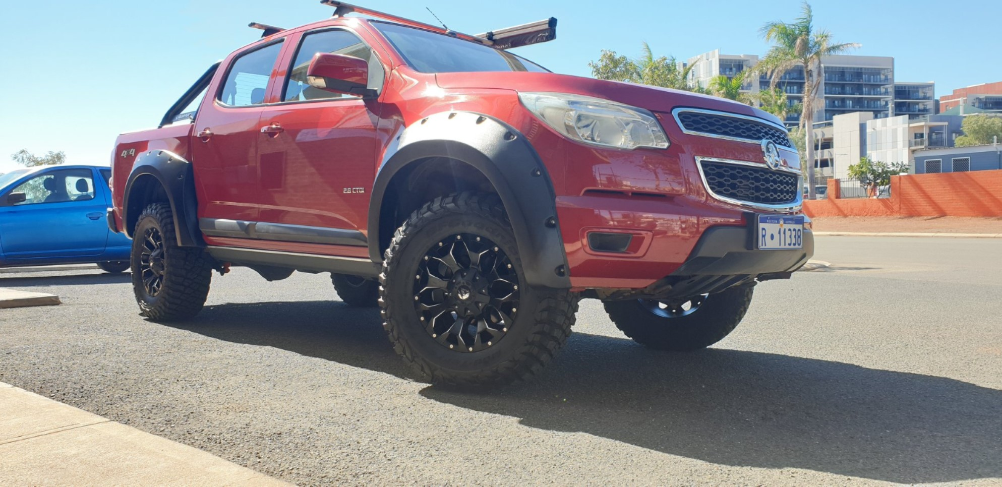 Kut Snake Flares, BF Goodrich KM3 Tyres & Fuel Wheels
